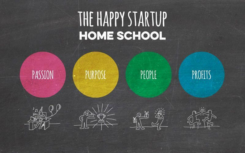 the happy startup home school
